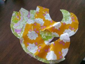 Sunshine Swirly Skirt Strips